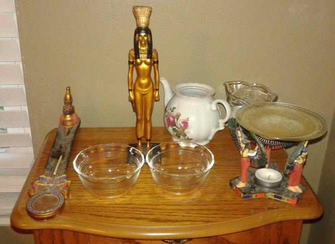 My shrine ready to do Rite to Nebet-Het