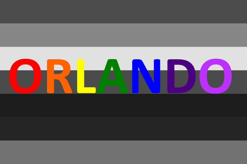 Memorial image for the victims of the Pulse shooting